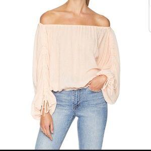Joie Elazara Long Sleeve Off The Shoulder Top NWT